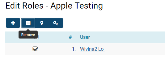 User Role - SmartWiki