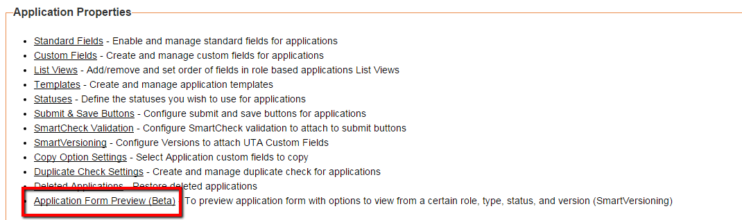 Preview UTA Forms Through Different Roles, Statuses, and Versions ...