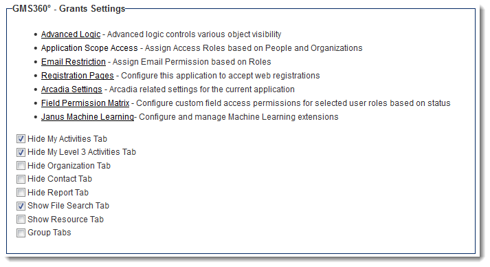 uta settings settings smartwiki